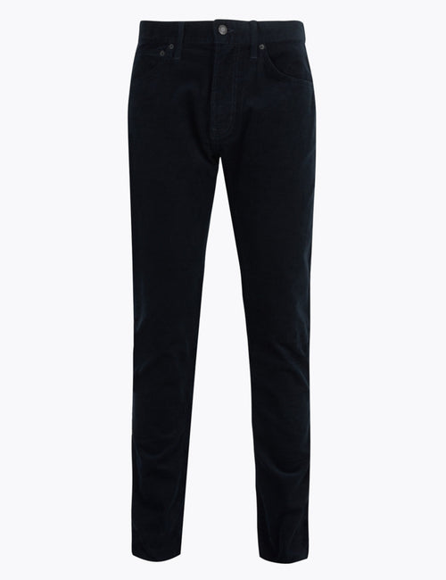 Slim Fit Corduroy 5 Pocket Trousers
