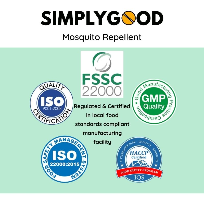 All-Natural Insect Repellent (Pack of 3)