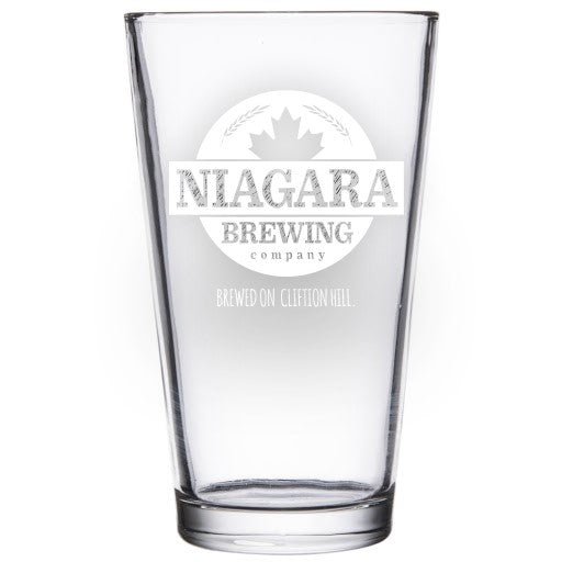 Niagara Brewing Company Beer Glass