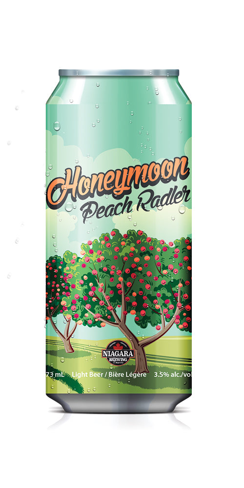 Honeymoon Peach Radler