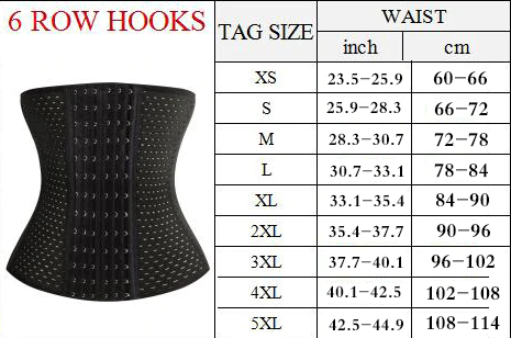 The 6-Hook Corset