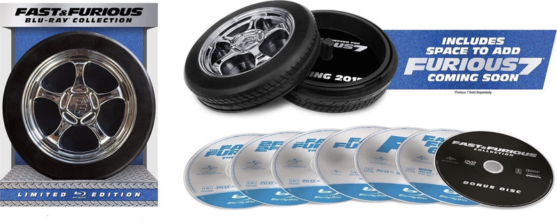 Fast & Furious Collection [Blu-ray]