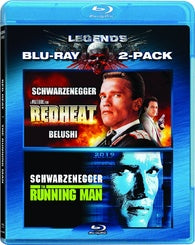 Red Heat / The Running Man Blu-ray
