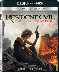 Resident Evil: The Final Chapter 4K Blu-ray Digital