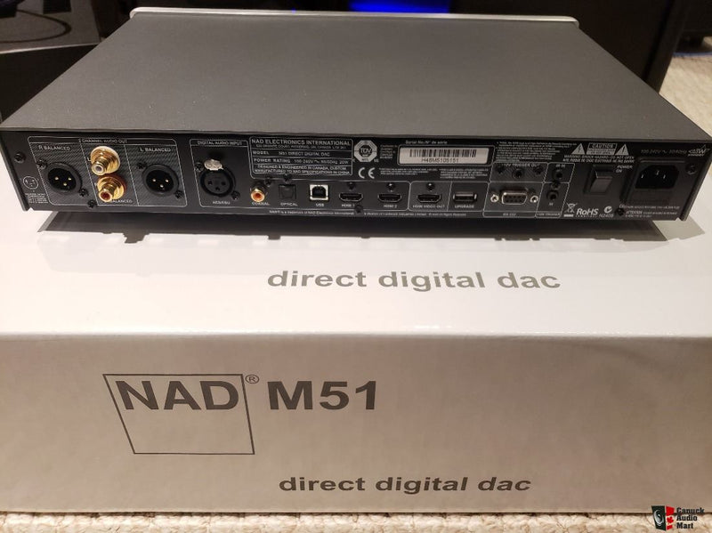 NAD Masters Series M51 Stereo DAC/digital preamp