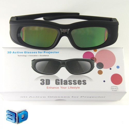 3D Active Glasses for Projector 3D projectors using the DLP-Link technology