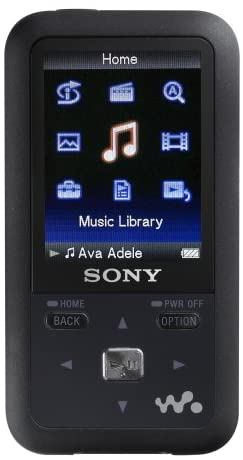 Sony 2 GB Walkman Video MP3 Player with FM Tuner (Black)