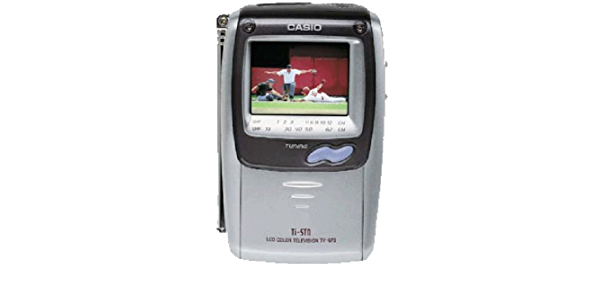 "Casio TV-970 Handheld Colour TV 2.3"" LCD"
