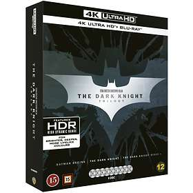 DARK KNIGHT TRILOGY  4K Ultra HD + Blu-Ray + Digital