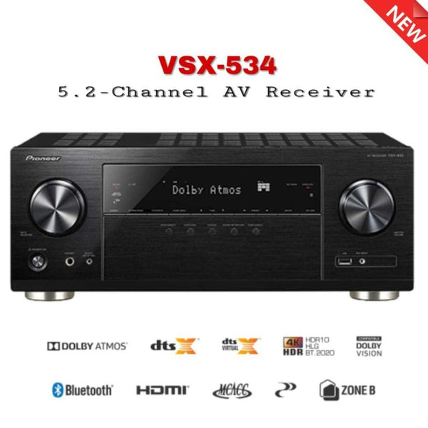 Pioneer VSX-534 5.2-Channel A/V Receiver