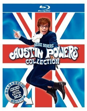 Austin Powers Collection blu-ray