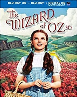 The Wizard of Oz (Blu-ray 3D / Blu-ray / Digital Copy)