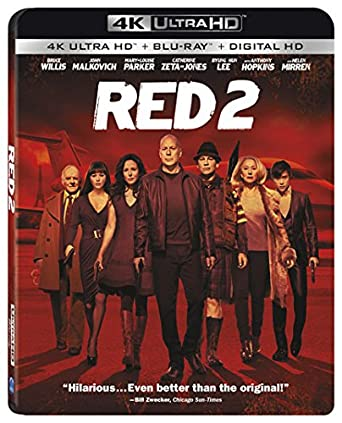 Red 2 - 4K Ultra HD  Blu-ray  digital