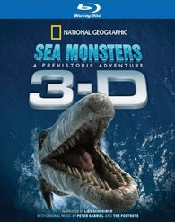 Sea Monsters 3-D Blu-ray