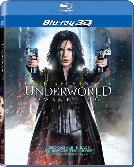 Underworld: Awakening 3D Blu-ray