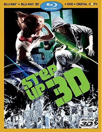 Step Up 3 (Blu-ray 3D + Blu-ray + DVD + Digital Copy)