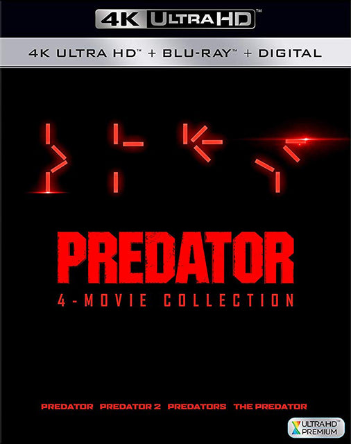 Predator: 4-movie Collection 4K Ultra HD + Blu-Ray + Digital