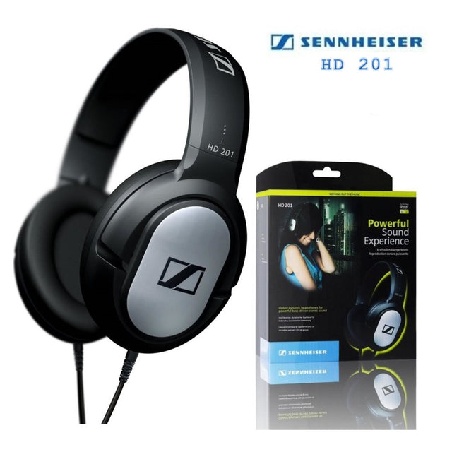 Sennheiser Headphones One Size Silver HD 201