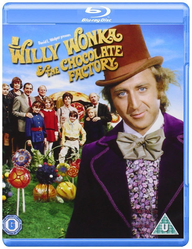 Willy Wonka And The Chocolate Factory [Blu-ray] [1971]