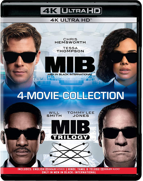 MIB: Men in Black - 4 Movies Collection
