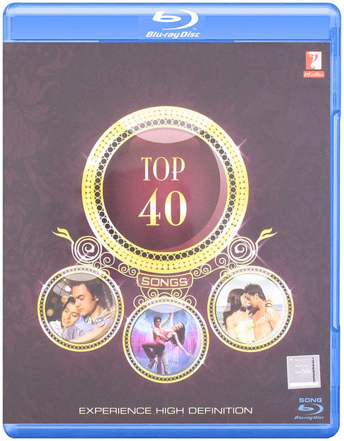 YRF Top 40 Hindi Blu Ray (Songs Blu Ray)
