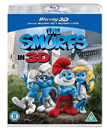 The Smurfs (Blu-ray 3D + Blu-ray)