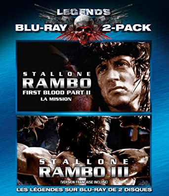 Rambo: First Blood Part 2 / Rambo III (Blu-ray)