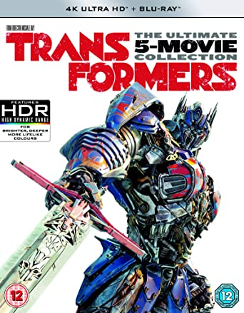 Transformers: 5-Movie Collection Blu-ray + 4K Ultra HD + Digital