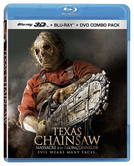 Texas Chainsaw [Bluray 3D + Blu-ray + DVD]