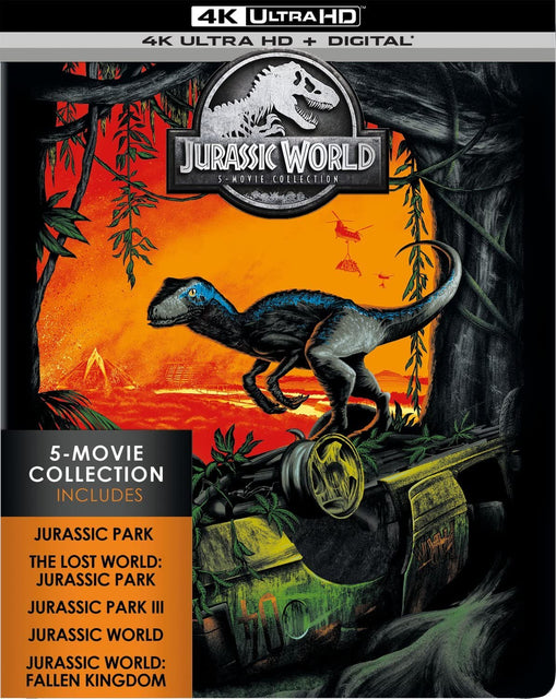 Jurassic World: 5-Movie Collection 4K Ultra Hd + Digital