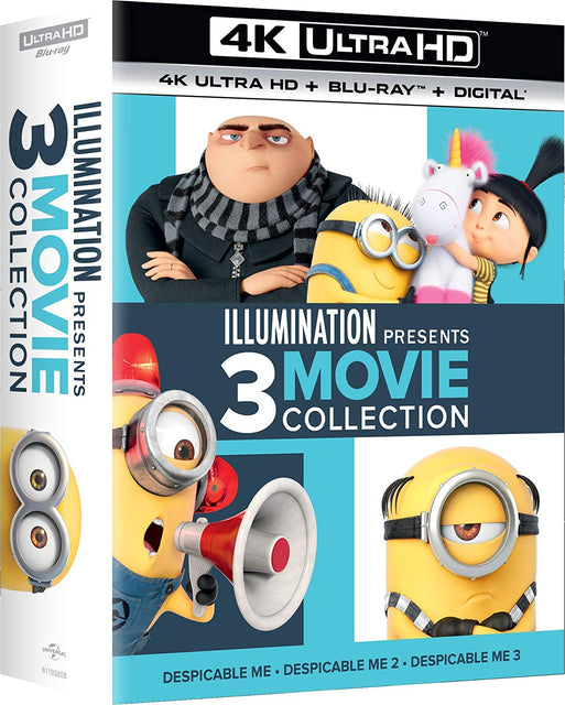 Illumination Presents: 3-Movie Collection  4K Ultra HD + Blu-Ray + Digital