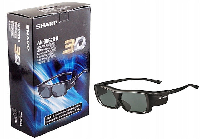 SHARP AN-3DG20-B 3D glasses 3D