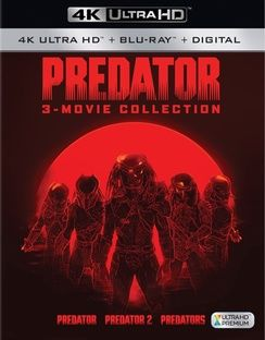 Predator: 3-Movie Collection 4K Ultra HD + Blu-Ray + Digital