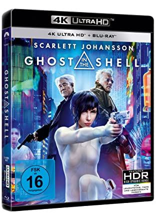 GHOST IN THE SHELL  4K UHD + Blu-ray + Digital HD