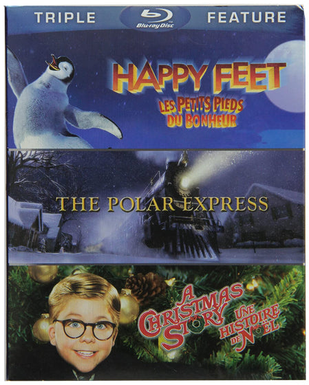 Happy Feet / A Christmas Story / The Polar Express [Blu-ray]