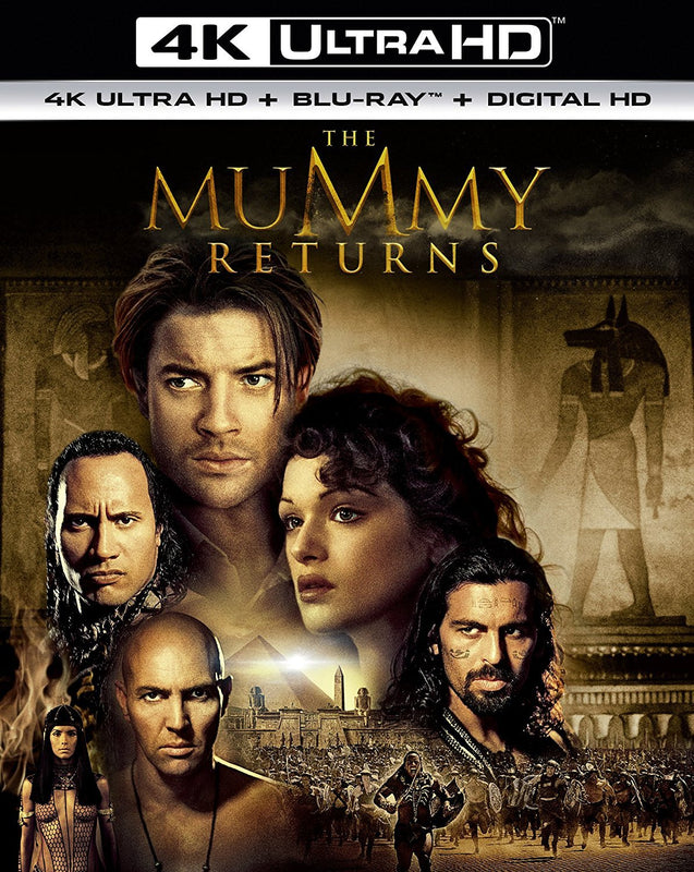The Mummy Returns 4K Ultra HD  Blu-Ray  Digital