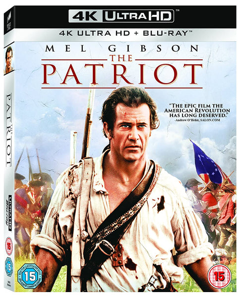 The Patriot  4K UHD   Blu-ray  Digital