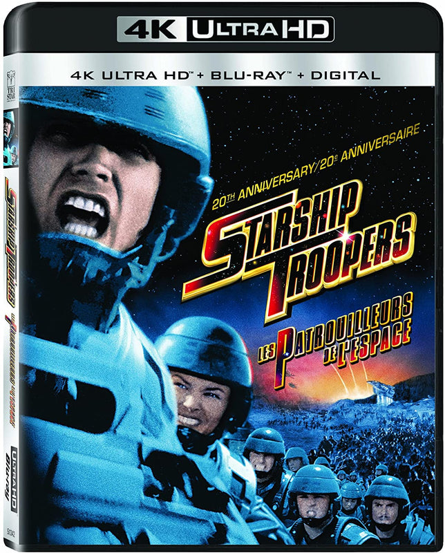 Starship Troopers - 4K UHD  Blu-ray  Digital