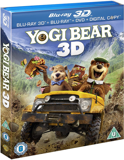 Yogi Bear (Blu-ray 3D + Blu-ray + DVD + Digital copy)
