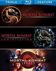 Mortal Kombat Triple Feature Blu-ray