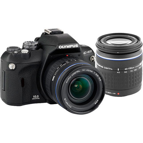 Olympus E410 10MP Digital SLR Camera with 14-42mm  and 40-150mm  Lenses
