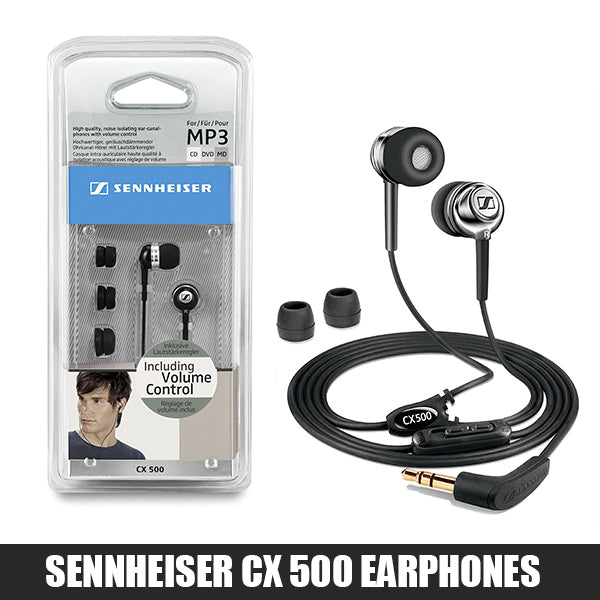 Sennheiser CX 500 Headphones With Volume Control
