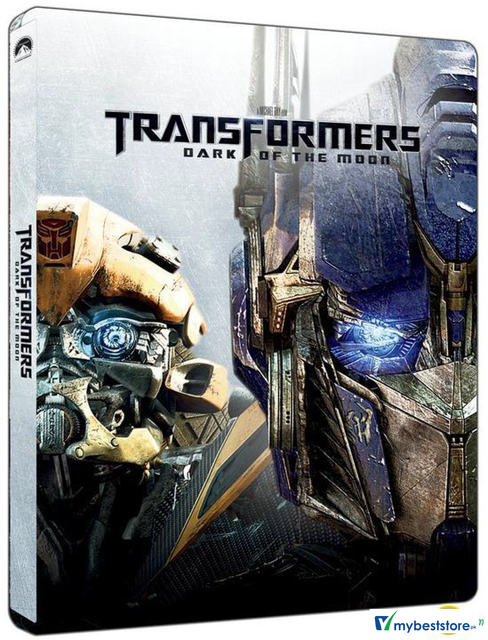 Transformers: Dark Of The Moon (Blu-ray) (2D + 3D) (Steelbook)