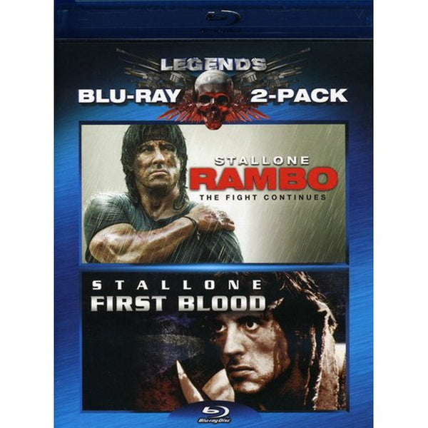 Rambo: First Blood/Rambo: The Fight Continues (2-Disc) (Blu-ray)