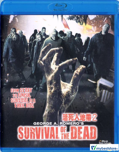 Survival Of The Dead (2009) (Blu-ray) (Hong Kong Version)