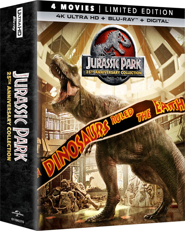 jurassic park  4K Ultra HD + Blu-Ray + Digital