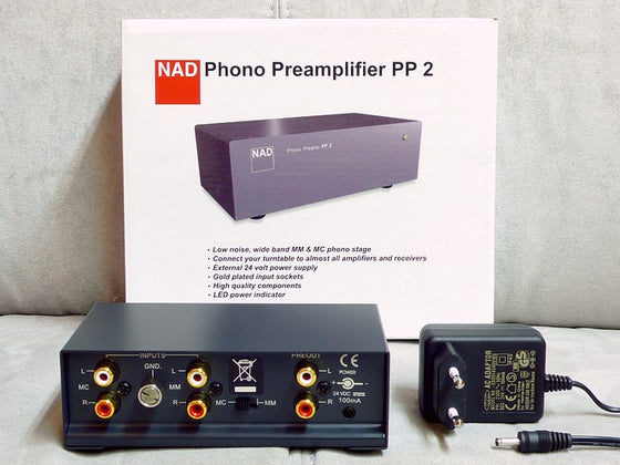 NAD PP-2 Phono preamplifier
