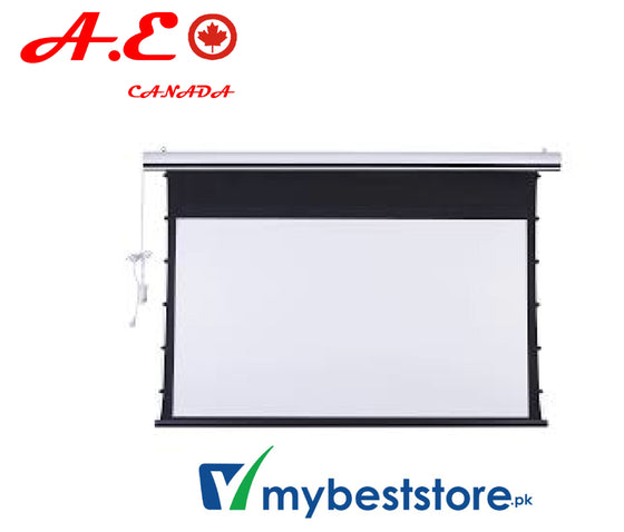 A.E CanadaTab-tension Motorized projector Screen
