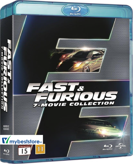 Fast & Furious 7-Movie Collection [Blu-ray]