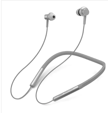 Xiaomi LYXQEJ01JY Bluetooth Earphones Necklace Earbuds - Gray